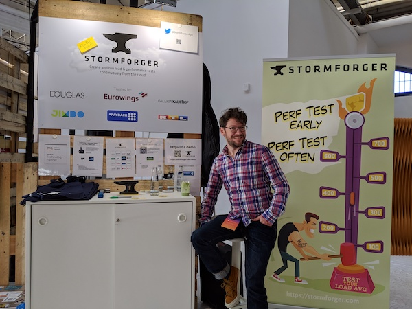AWS Summit Berlin 2019 StormForger Booth